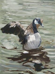 Reading Contemporary Art Fair 2013-Nicola Duncan-Canada Goose