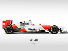 Formula 1 Actual con diseños antiguos - Taringa!