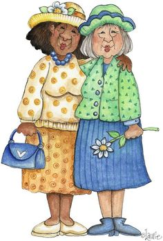 - Senior Moments by Laurie Furnell - Jeanette on Picasa Web Albums Art Impressions Stamps, Whimsical Art, Illustrations, Old Women, Art Drawings, Funny Pictures, Sketches, Clip Art, Funny Images