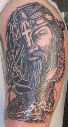 59 Best Thors Hammer Tattoos Images Norse Mythology Norse Tattoo