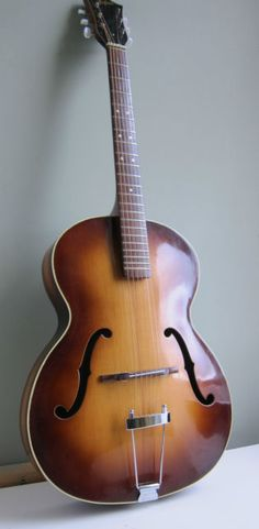 Beautiful Hofner Congress Archtop acoustic Guitar Johnny Cash Style