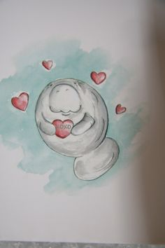 manatee's can love too