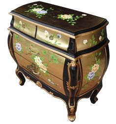 Hand painted Floral design in gold leaf, check out our prices, unbelievable value for money, we are sorry buy we can only supply the uk market. please visit our shop for details.
