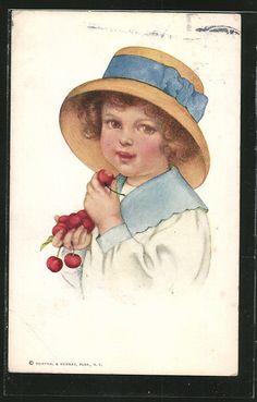 Vintage postcard 1912