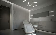 Clinic, Dental, Commercial, Bathtub, Ceiling, Bathroom, Standing Bath, Washroom, Bathtubs