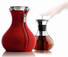 LaBrea Store    Tetera Eva Solo con funda de neopreno roja. Ustensile  Cuisine, ea21be8f274