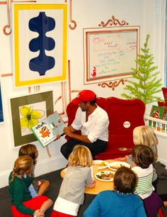 T'was the night before Christmas, and all through the bookstore, Prophet Chief Curator Andy Stefanovich partied with his favorite art and kiddos. Shop his party!
