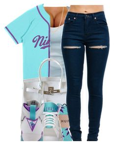 """""""•"""" by yeauxbriana on Polyvore featuring Mark Davis, Hermès, HUF and Retrò"""