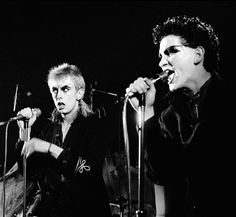 Guggi and Gavin Friday, Virgin Prunes, London, 1979 Photo by David Corio 80s Goth, Punk Goth, Vivienne Westwood Shop, Goth Bands, Siouxsie & The Banshees, The Cramps, New Romantics, Psychobilly, Patriarchy