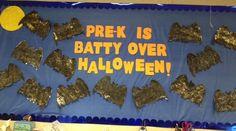 Pre-K is Batty Over Halloween! | Halloween Bulletin Board