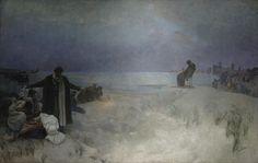 The Slav Epic #16: Jan Amos Komensky by Alphonse Mucha