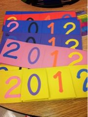 New Years Resolutions Activity - flip book for resolutions.  Also a great idea for making class resolutions for the new year.
