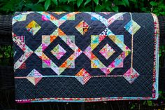 Lily's Quilts: LynneBobSquarePants finished