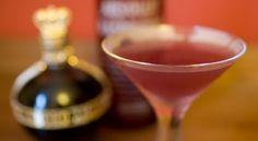 Tartini cocktail from MakeMeACocktail.com use black vodka instead of raspberry vodka for halloween
