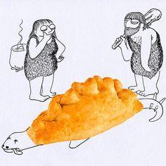 Comics In The Kitchen: Humorous Illustrations By Massimo Fenati