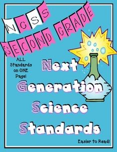 Every grade's Next Generation Science Standards (NGSS) on their own page! Also has matrixes that have their grade and the grades around them on the same page.