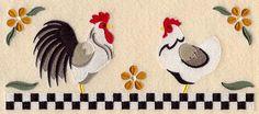 Resultado de imagen para embroidery designs of hens at embroidery library