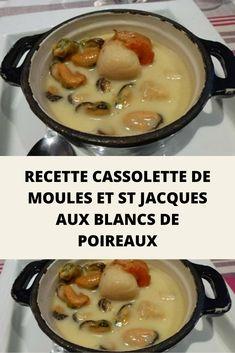 Le réveillon de la Saint-Sylvestre approche à très grands pas… En manque d'inspiration pour un plat raffiné et festif ? Parmi les milles et une façon d'accommoder les coquilles Saint-Jacques, l'une des plus traditionnelles de la cuisine française est sans conteste la cassolette de Saint-Jacques. Pour ceux qui manquent encore d'idées pour compléter leur menu de fêtes, c'est une recette plutôt rapide de Cassolette de moules et St Jacques aux blancs de poireaux, accompagnée d'une sauce… New Years Eve Party, Entrees, Beef, Restaurant, Cooking, Saint Sylvestre, Sauce Hollandaise, Saint Jacques, Inspiration