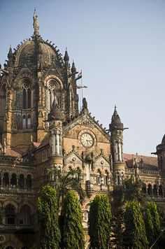 Train Station in Mumbai, India