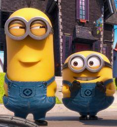 minions - me & my bff * Minion Gif, Cute Minions, Minions Despicable Me, My Minion, Minions 2014, Minions Images, Funny Minion Pictures, Minions Quotes, Funny Pics
