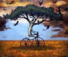 #Bike #Tree #Art