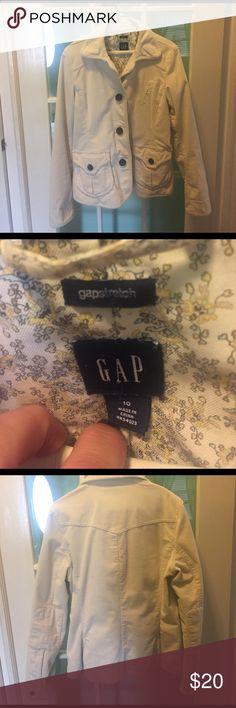 Classic GAP Spring Jacket Size 10 Corduroy jacket GAP Jackets & Coats