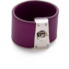 Marc by Marc Jacobs Intergalocktic Leather Bracelet ($59) ❤ liked on Polyvore