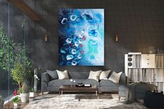 Items similar to Large Modern Wall Art Painting,Large Abstract Painting on Canvas,texture painting,gold canvas painting,gallery wall art on Etsy Large Abstract Wall Art, Large Canvas Art, Large Wall Art, Large Painting, Painting Art, Large Art, Knife Painting, Painting Gallery, Modern Wall Decor