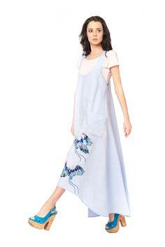 """Сарафан """"Медея"""" - Юкостайл. Магазин дизайнерской одежды оптом и в розницу."""