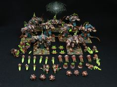 The Internet's largest gallery of painted miniatures, with a large repository of how-to articles on miniature painting Warhammer Skaven, Warhammer Paint, Warhammer Aos, Warhammer Models, Warhammer Fantasy, Age Of Sigmar Armies, Mini Paintings, Miniture Things, Painting Inspiration