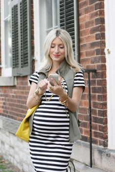 The Minted Mama: Earn Your Stripes. Maternity style with Thyme Maternity
