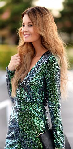 How to be party comfortably and in style this winter? Stunning holiday party dress only belong to you. Sparkles New Years~ Christmas Sequin Sequins Dress. Free Shipping to US! www.shein.com