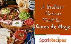 Healthy Mexican Recipes for #CincodeMayo