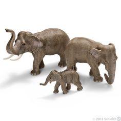 Schleich Divlje Životinje - Mladunče azijskog slona 14343 - Kliknite na sliku da uvelicate