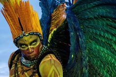The Rio carnival: samba, singing and sequins – in pictures