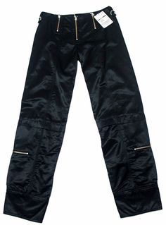 Plein Sud #Womens Black #Pants Size 44/12 Long Made in #France $ 150 | #eBay http://www.ebay.com/itm/Plein-Sud-Womens-Black-Pants-Size-44-12-Long-Made-in-France-150-/222541940813?ssPageName=STRK:MESE:IT
