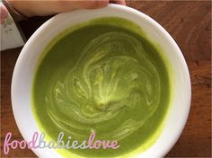 Broccoli Soup With Extra Oomph - Food Babies Love