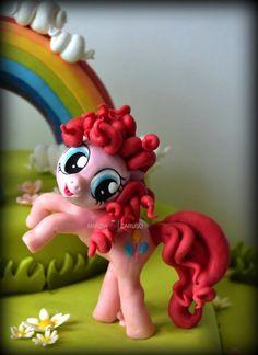 Cake Topper Pinkie Pie 2