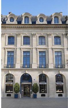 Chanel jewelry boutique, place Vendome, Paris