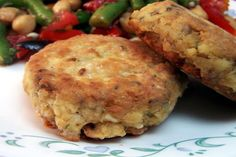 Salmon Patties - interesting & simple enough. . . I think the family would liked this!