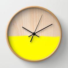 Sorbet V Wall Clock by Galaxy Eyes