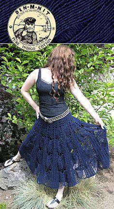 bb6232f9 Pineapple Skirt - free crochet pattern on ravelry Crochet Buttons, Knit Or  Crochet, Free