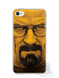 Capa Iphone 4/S Breaking Bad #3 - SmartCases - Acessórios para celulares e tablets :)