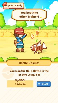 Take that! My precious Magikarp jumped 198.45 m and won! #Magikarp http://koiking.jp/r/