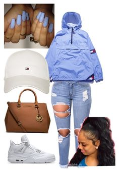 """""""Tommy way"""" by kaykay0 on Polyvore featuring Tommy Hilfiger and MICHAEL Michael Kors"""