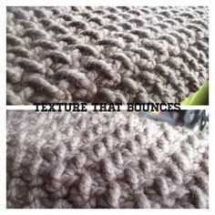 free textured knit scarf pattern