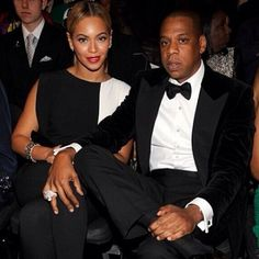 Beyonce Knowles and her husband Jay-Z