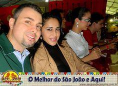 David Dhuan e Ana Henrique,de João Pessoa curtindo o nosso São João!