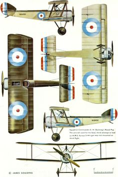 Sopwith Pup (Beardmore Type 9901a) Unit: RNAS Serial: N6452 Squadron Commander E.H.Dunning's Naval Pup. The aircraft used for his fatal second...