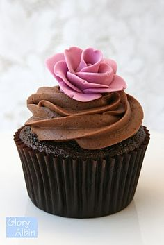 The BEST chocolate cupcake recipe, made them for A's birthday and they were a huge hit!